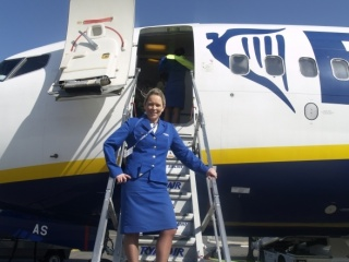 Interview with Lisa Monaghan, head of Ryanair's base in Zadar Airport