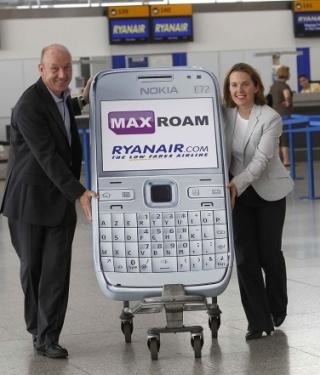 Ryanair i Maxroam smanjuju roaming troškove do 70%
