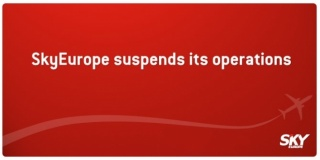 SkyEurope suspends its operations