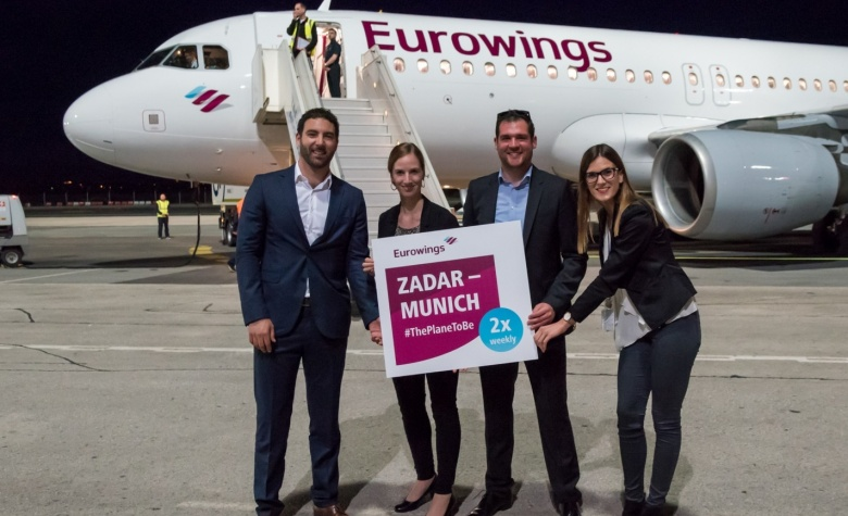 During following 2 weeks Eurowings will fly from Germay to Zadar