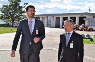 Ambassador of the People's Republic of China H.E. Mr. Hu Zhaoming visited Zadar airport