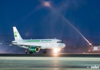 Germania Connects Croatia with Switzerland: Inaugural Flight between Zürich and Zadar