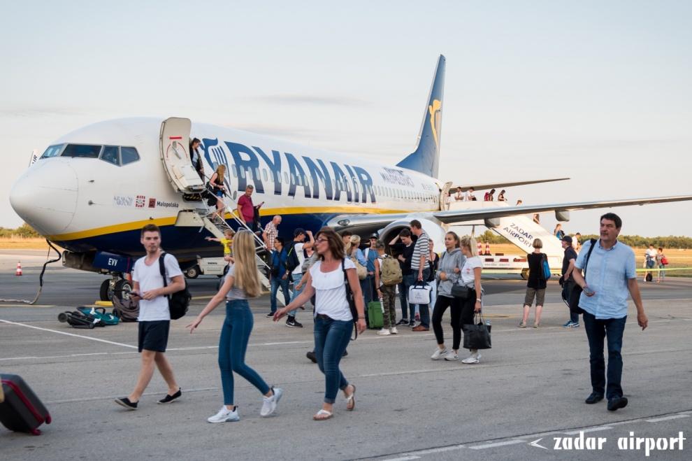 Ryanair Od 1 Srpnja Ponovno Leti Za Zadar Zracna Luka Zadar Zadar Airport